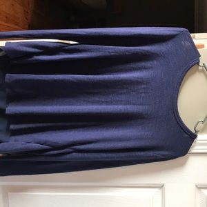 Navy blue , Old Navy long sleep top